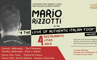 4 the love of authentic italian food – Midwest tour