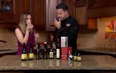 Iron Chef America Judge Mario Rizzotti Teaches classes about tasting real Italian Olive Oil
